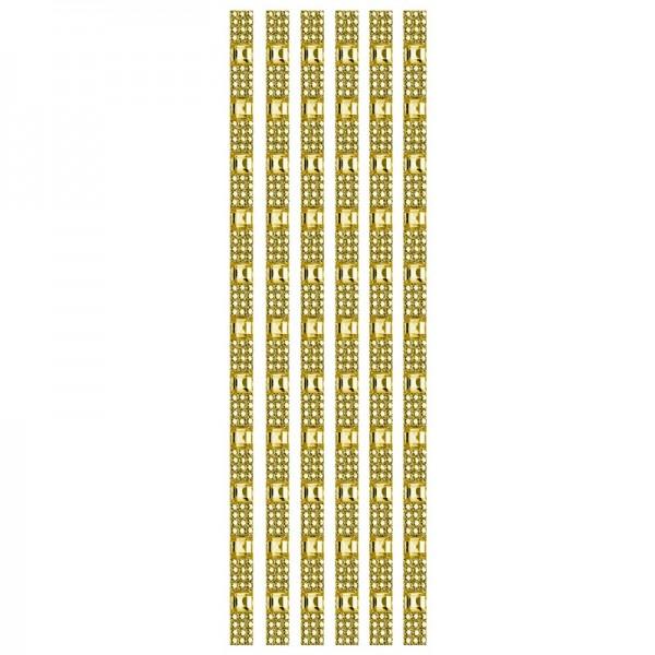 Royal-Schmuck, 6 selbstklebende Bordüren, 29 cm, bernstein