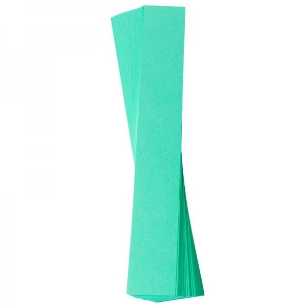 Papierstreifen, 4 x 30 cm, 120 g/m², mint, 50 Stück
