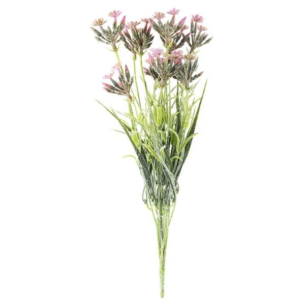 Deko-Busch, Blüten 4, 39,5cm lang, 12 Stängel, rosa Blüten