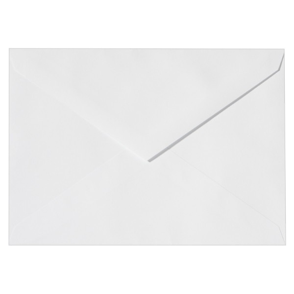 Umschläge, Din B6, 12,5x17,5cm, weiß, 10 Stück