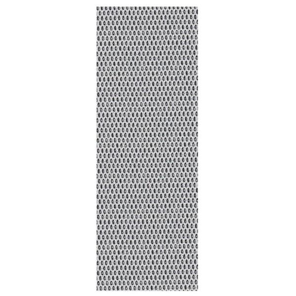 """Stoffe Royal """"3-D Glimmer-Netze"""", selbstklebend, 10 x 29 cm, 5 Stück, silber"""