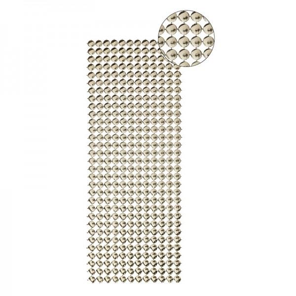 Schmuck-Netz, selbstklebend, 12 x 30 cm, gold, Design 7