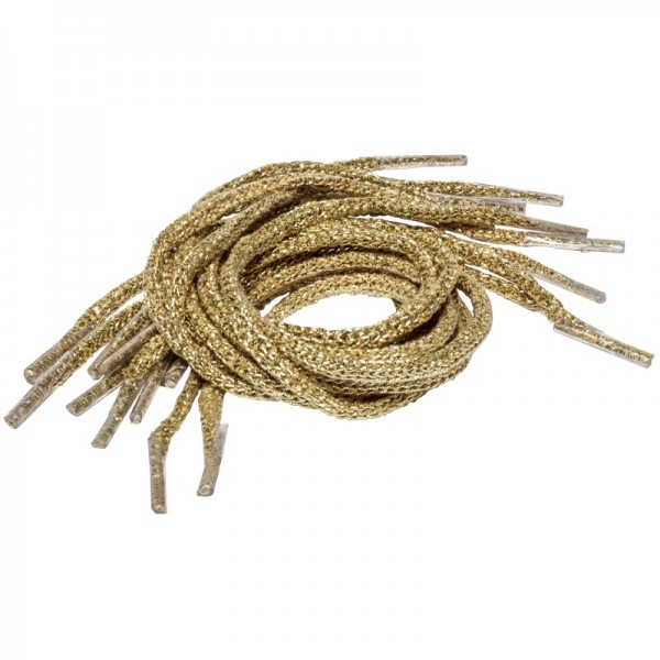 Kordelbänder/Kordelgriffe, 30 cm, gold, 10 Stück