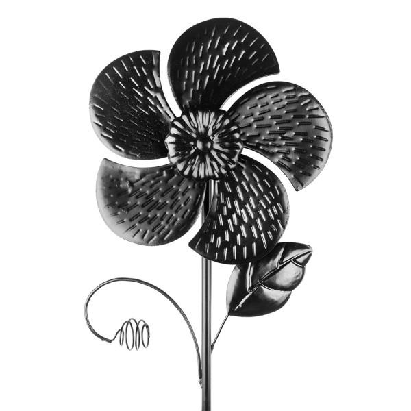 Windrad Design 6, Ø 18cm, Höhe 50cm, schwarz