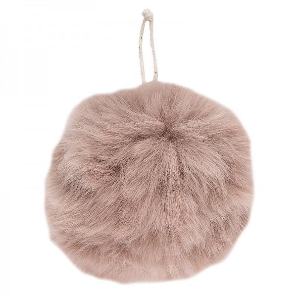 Plüsch Anhänger, Ø 9cm, rosa