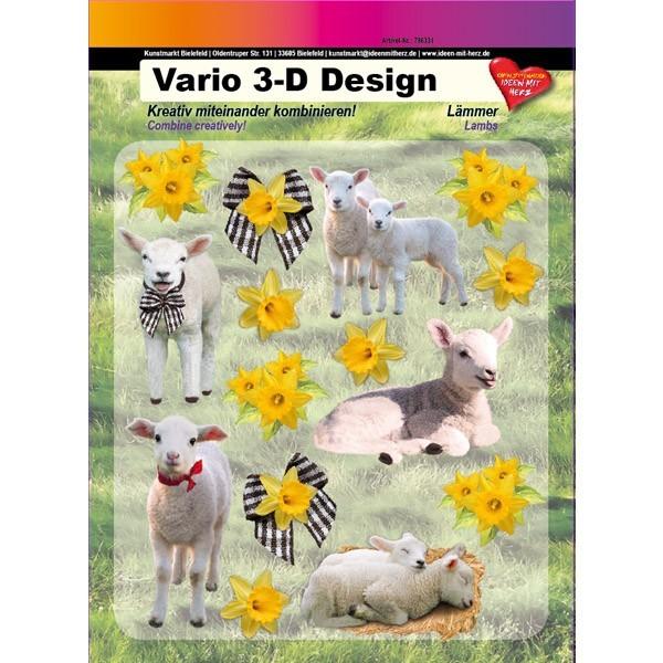 Vario 3-D Design, Lämmer