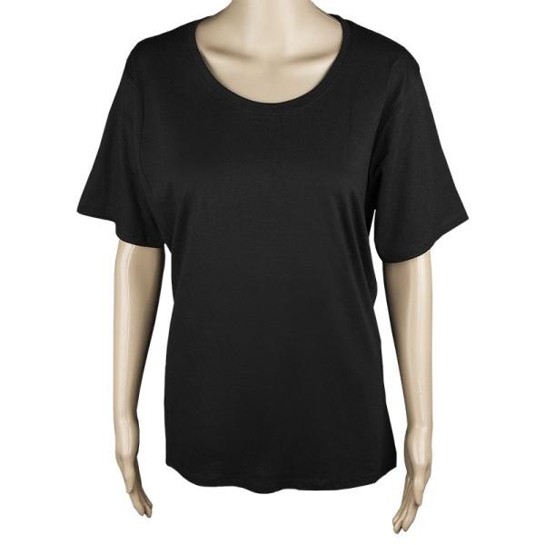 Damen T-Shirt, schwarz, Größe S