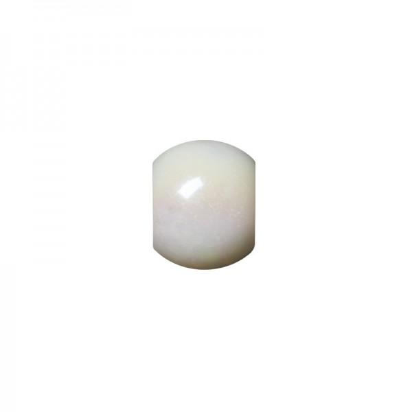 """Perlen """"Mona"""", Ø10 mm, 50 Stück, warmweiß-irisierend"""