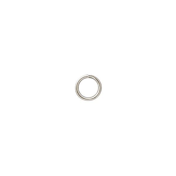 Verbindungsringe, Ø 5 mm, silberfarben, 50 Stück