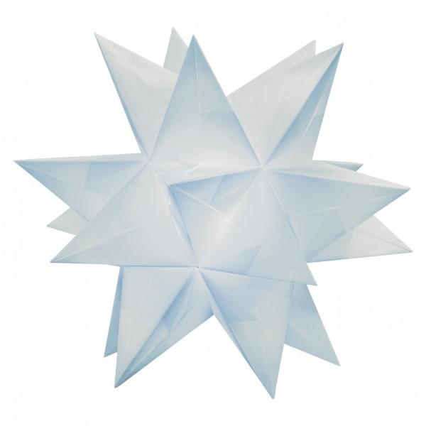 Aurelio Stern Set, transparent, 15cm x 15cm, 33 Blatt, hellblau