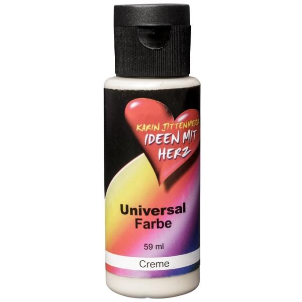 Universal Farbe, 59 ml, Creme