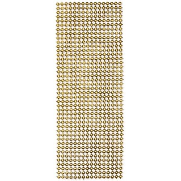 Schmuck-Netz, selbstklebend, 12 x 30 cm, antik-gold