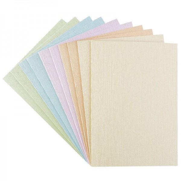 """Grußkarten """"Athen"""", C6, Pastelltöne, inkl. Umschläge, 10 Stück"""