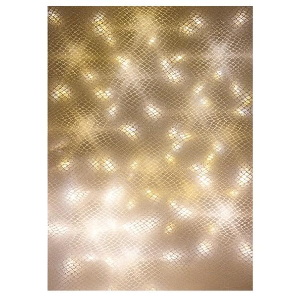 Lichteffekt-Folie, Kroko, DIN A4