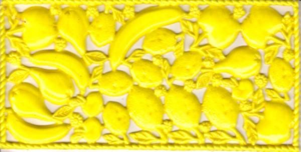 Wachsornamente-Früchte, ca. 160x80mm