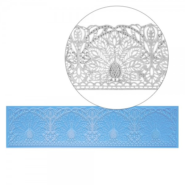 Silikon-Dekormatte, Design 8, 40cm x 10cm x 0,2cm