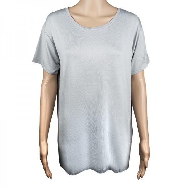 Damen-T-Shirt, Größe XL, grau