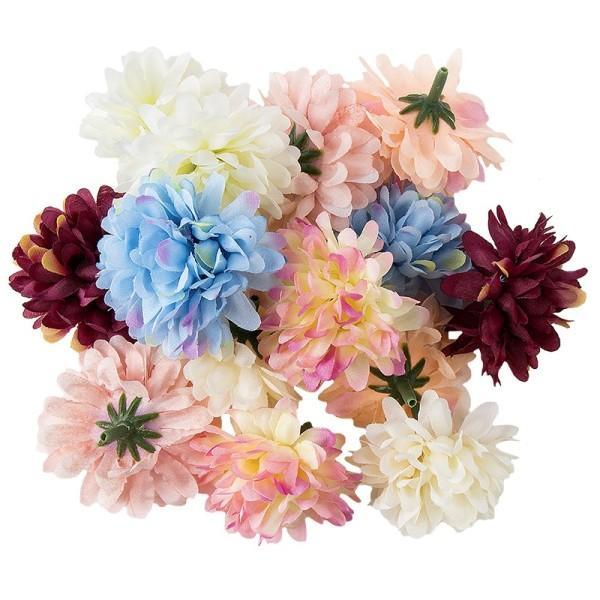 """Deko-Blüten """"Dahlie"""", Ø 5cm, 20g, verschiedene Farben"""