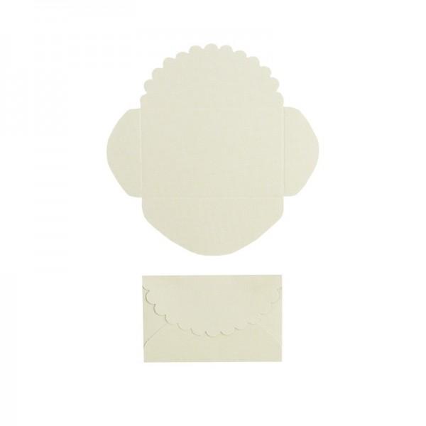 Mini-Umschläge, 2,9 x 4,6 cm, 100 Stück, hellgrün