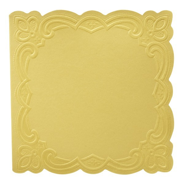 """10er Grußkartenset Deluxe, """"Rom"""", 15x15cm, gelb"""