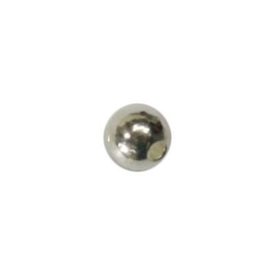 Perle, Ø0,5 cm, silberfarben, 50 Stück