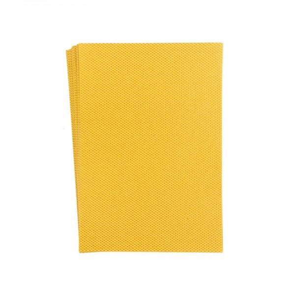 """Faltpapiere """"Nova 3"""", 10x15cm, 50 Stück, ocker-gold"""