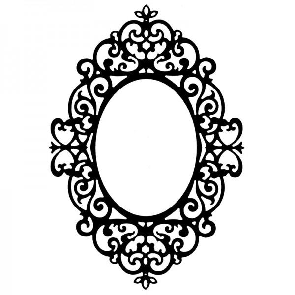 Stanzschablone, Rahmen 2, 9,9cm x 14,3cm