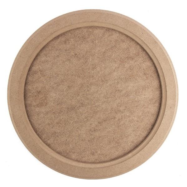 Kreativ-Rahmen, rund, Ø 29,5cm, mit Aufhängevorrichtung