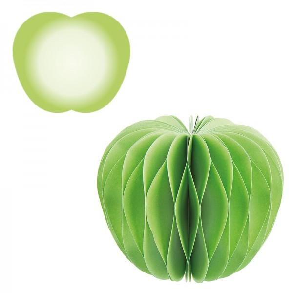 Waben-Stanzteile, Apfel, 8cm x 6,7cm, 100 Stück