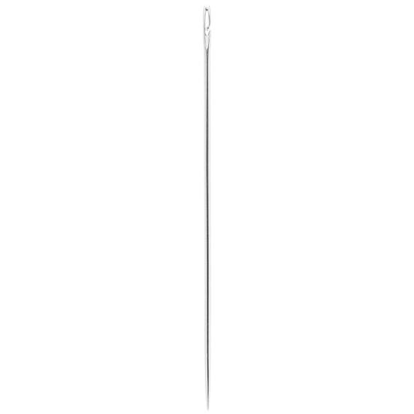 Spezial-Nadeln, 6,8 cm lang, silber, 3 Stück