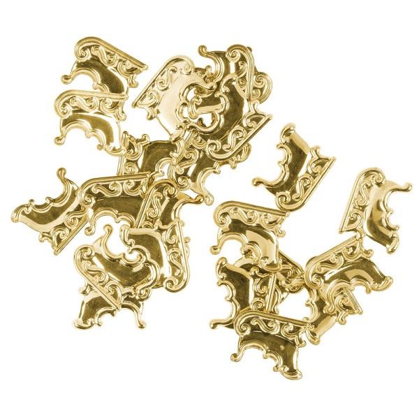 Messing Ornamente, Schlitten, 20 Stück