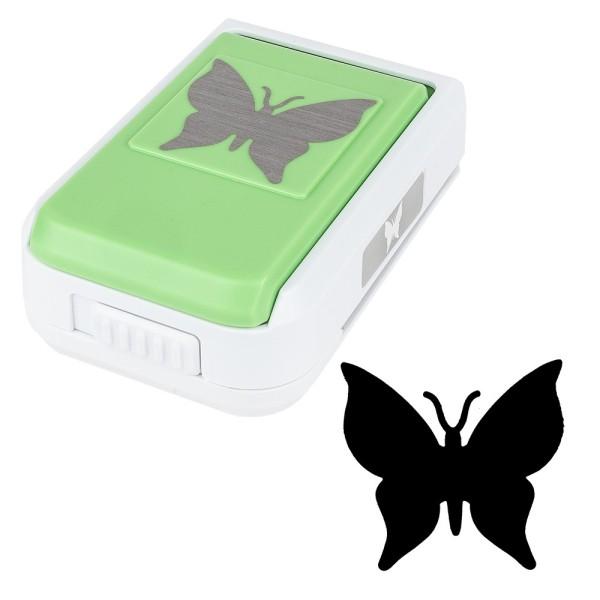 Stanzer, Schmetterling, 4,2cm x 4,4cm