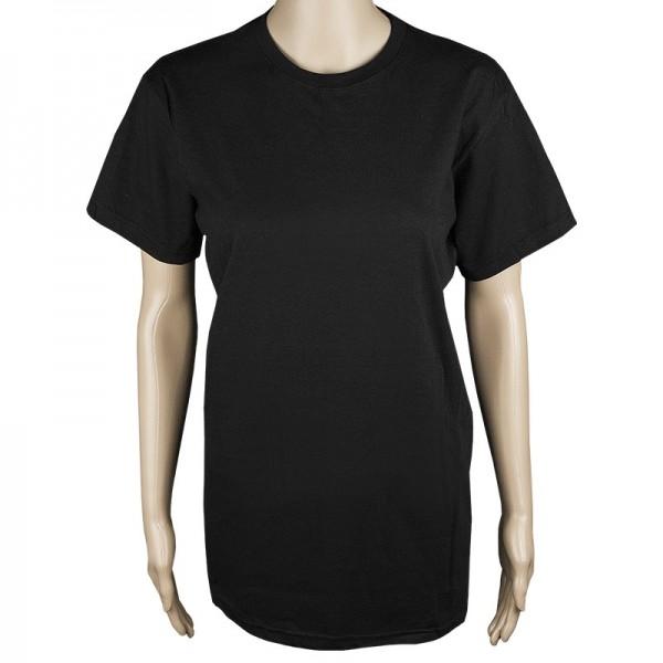 Kinder T-Shirt, schwarz, Größe 128
