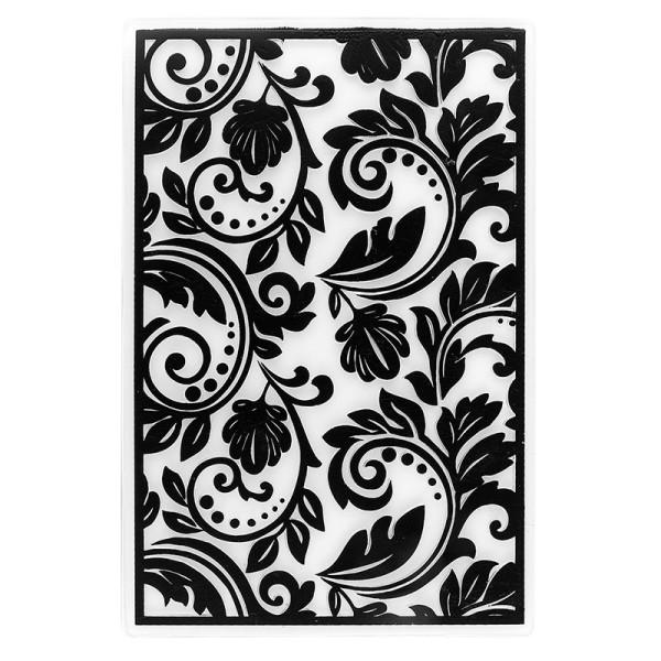 Prägeschablone, Hintergrund Ornamentik 1, 15cm x 10cm