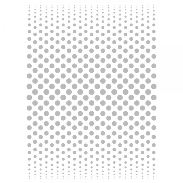 Metallic-Bügeltransfer, Hintergrund, Punkte, 25cm x 34cm, silber glänzend
