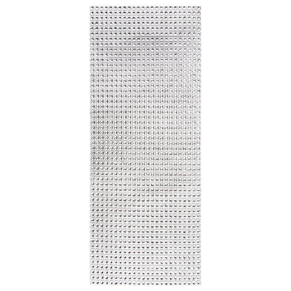 Schmuck-Netz, selbstklebend, 12 x 30 cm, silber
