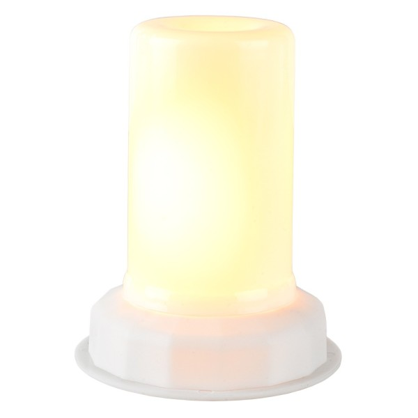 LED-Flammenlicht, Warmweiß, Ø 4,5cm, inkl. Timer