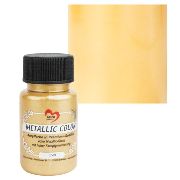 Metallic Color, gold, 50ml