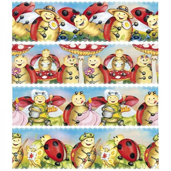 """Zauberfolien """"Lucky Lo 2"""", Schrumpffolie für Ø14cm, 12,7cm hoch, 4 Stück"""