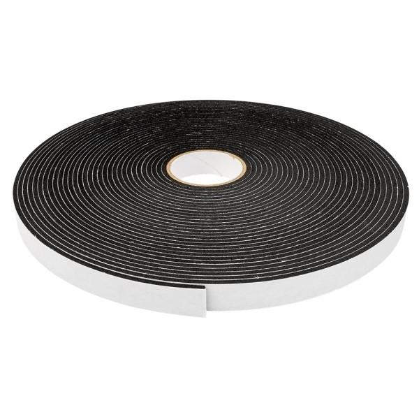 3-D Schaumklebeband, 12mm breit, 2mm hoch, 10m lang, schwarz