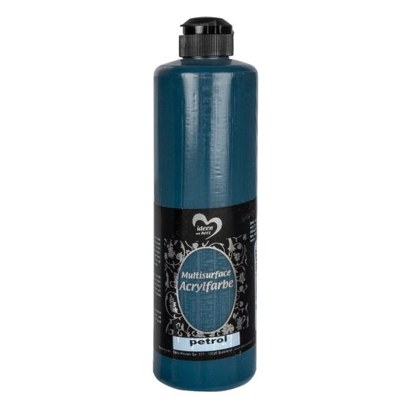 "Acrylfarbe ""Multisurface"", petrol, 500ml"