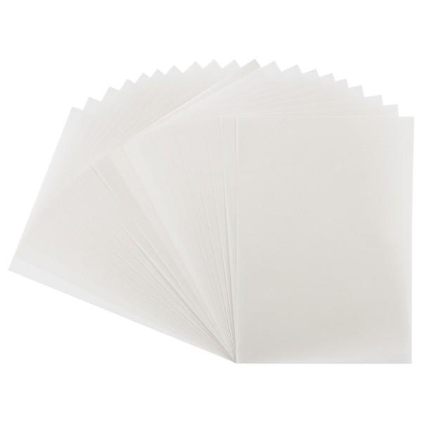 Transparentpapiere, DIN A4, 130 g/m², weiß, 20 Bogen