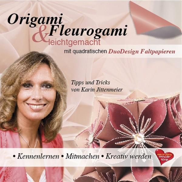 DVD, Faltideen, Origami & Fleurogami, 100 min, Karin Jittenmeier