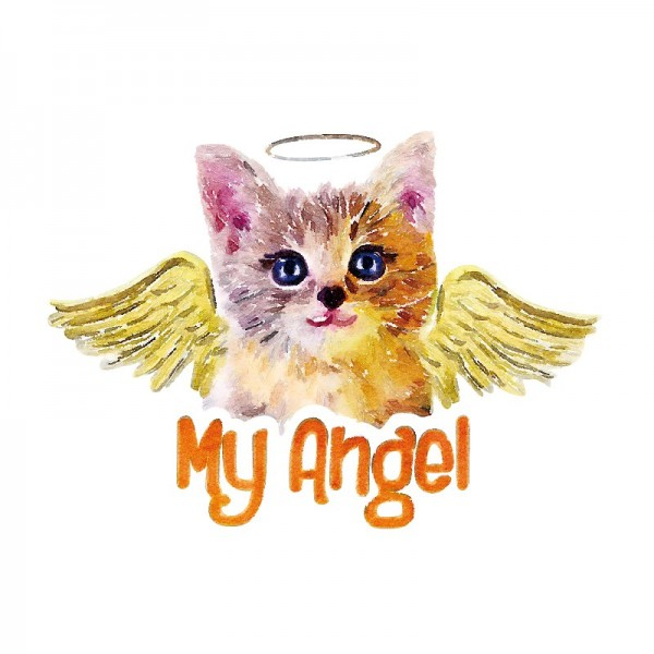 Color Bügeltransfers, DIN A4, My Angel