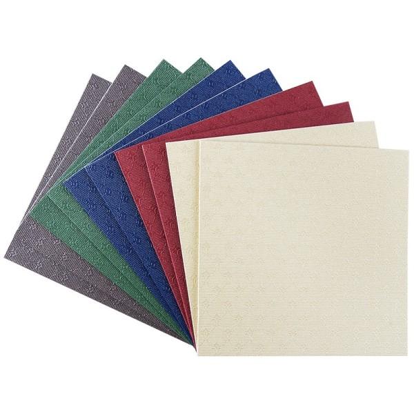 """Grußkarten """"Wien"""", 11cm x 11cm, kräftige Farbtöne, inkl. Umschläge, 10 Stück"""