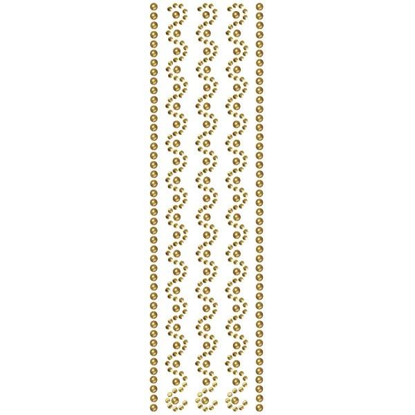 Royal-Schmuck, 5 selbstklebende Bordüren, 29 cm, bernstein