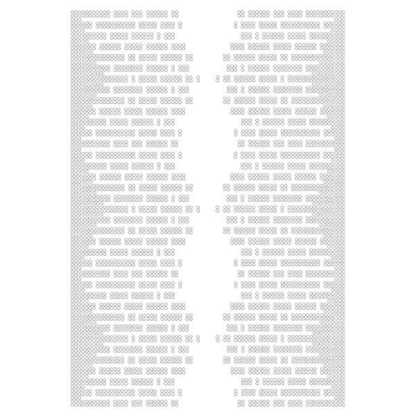 Bügelstrass-Design, DIN A4, klar, Lichtblick