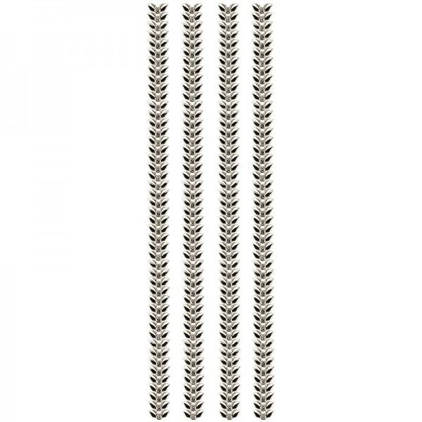 "Premium-Schmuck-Bordüren ""Blattranke"", selbstklebend, 29cm, gold"