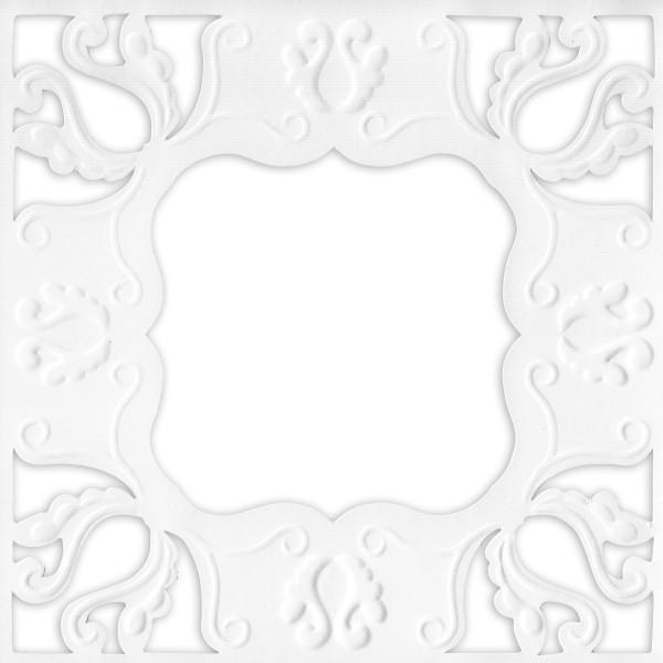 Ornamentik-Grußkarten, 14x14cm, 10 Stück, Design 1