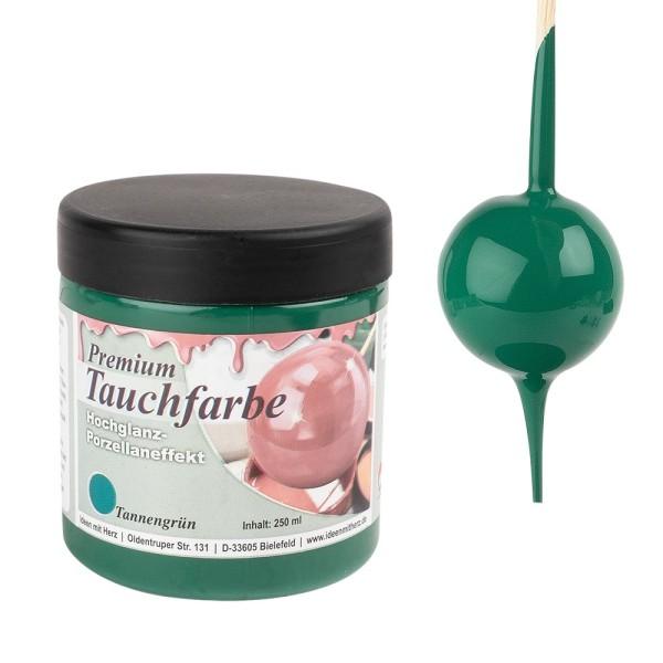 Premium-Tauchfarbe, Tannengrün, 250ml